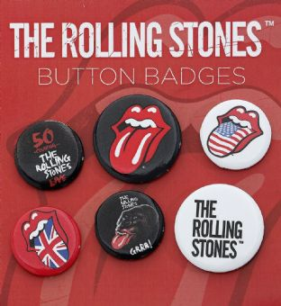 Rolling Stones (The) - Button Badges